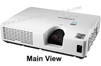 Main View Hitachi CP-X2020 XGA PROJECTOR