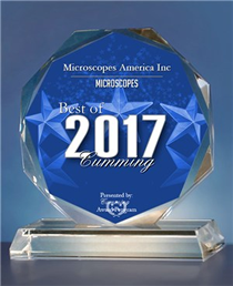 Microscopes America Inc has been selected for the 2017 Best of Cumming Award in Microscopes.