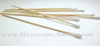 Cotton Tipped (One End) Applicator Sticks (Wood) 95-8702