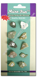 Rocks and Minerals Specimens Set MSA-R1